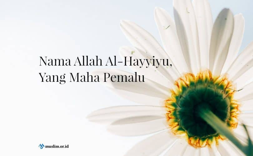 Nama Allah Al-Hayyiyu, Yang Maha Pemalu