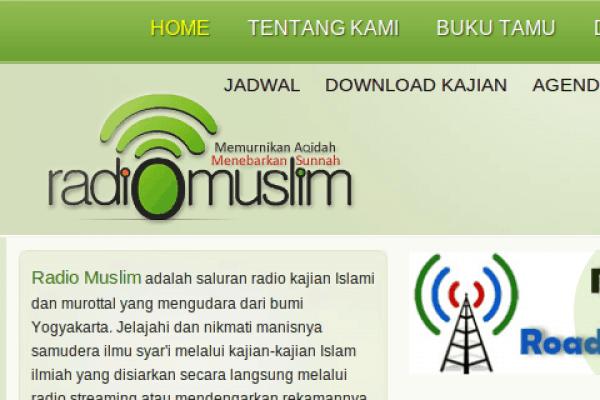 Fanpage Radio Muslim Pindah Alamat