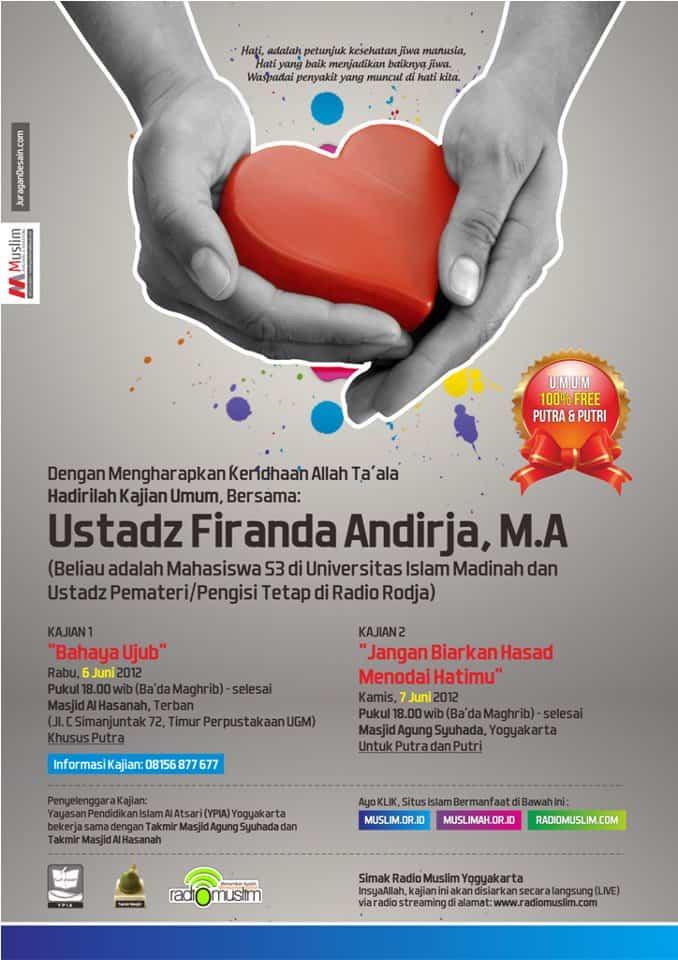 Kajian Umum Bersama Ustadz Firanda Andirja, M.A. (6-7 Juni 2012, Yogyakarta)