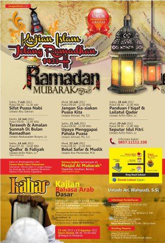 Semarak Ramadhan 1433 H di Sekitar Universitas Muhammadiyah Yogyakarta (UMY)