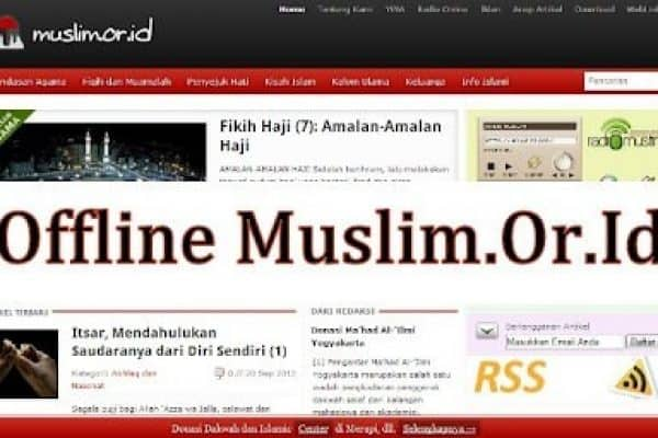 Download Ebook Website Offline Muslim.Or.Id