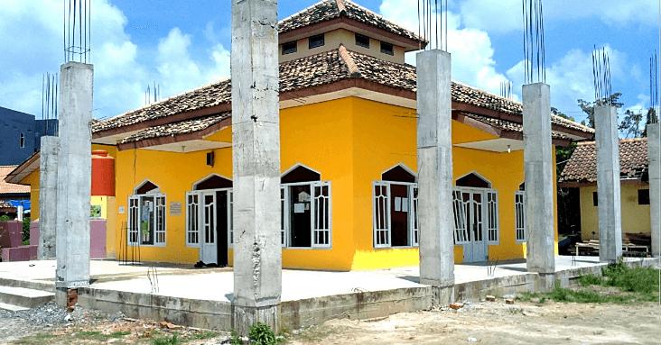 Donasi Pengembangan Masjid IC Al Istiqomah Prabumulih