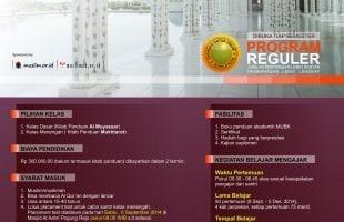 Program Belajar Bahasa Arab Dasar Semeseter Ganjil 2014 Ma'had 'Umar bin Khattab Yogyakarta