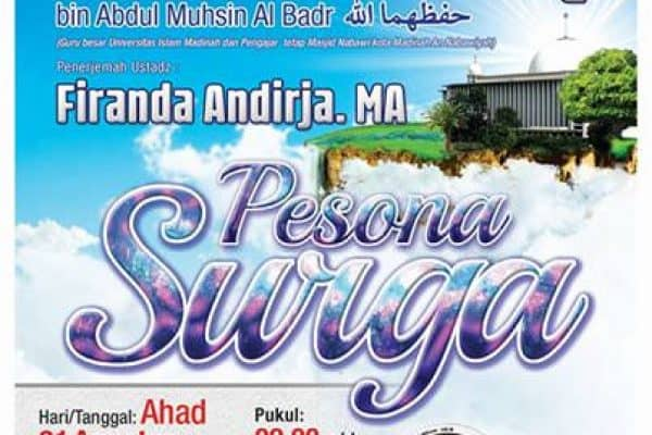 [VIDEO] Pesona Surga – Syaikh Abdurrazzaq Al Badr