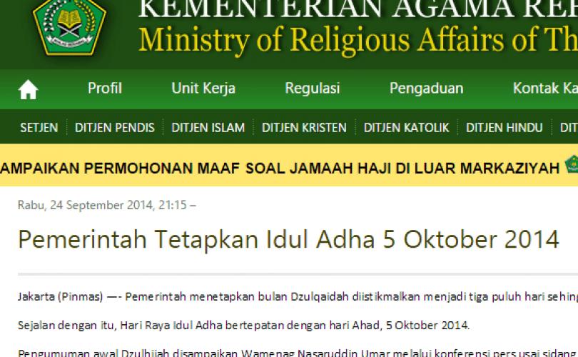 Tokoh Muhammadiyah: Ikut Saja Keputusan Pemerintah
