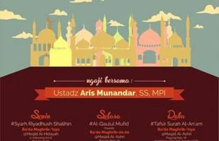 Jadwal Kajian Sepekan Bersama Ust. Aris Munandar Di Yogyakarta