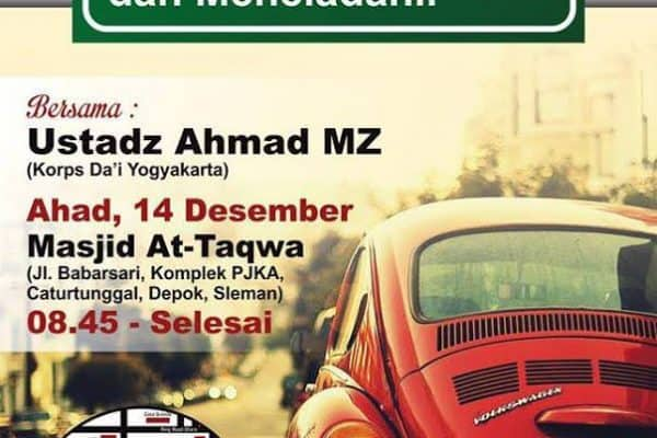 Kajian Muslim Pelajar #7 (Yogyakarta, 14 Desember 2014)
