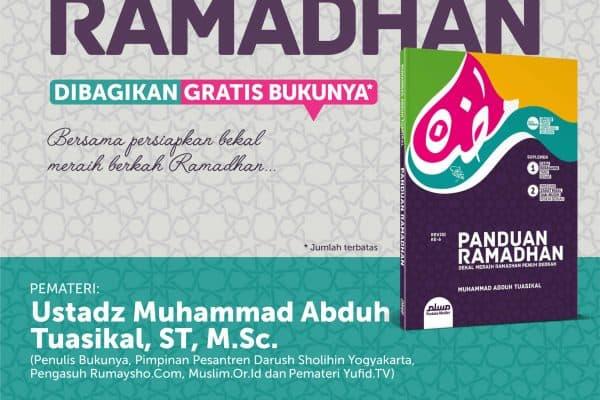 Kajian Bedah Buku Panduan Ramadhan (Yogyakarta, 30 Mei 2015)