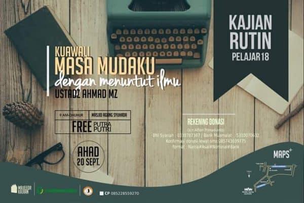 Kajian Rutin Pelajar #18 (Yogyakarta, 20 September 2015)