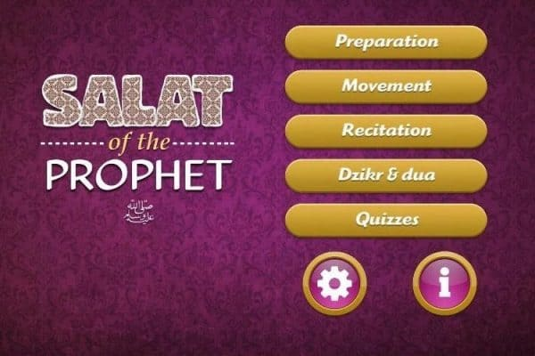 Salat of the Prophet, Aplikasi Ilustrasi Sifat Shalat Sesuai Tuntunan Nabi