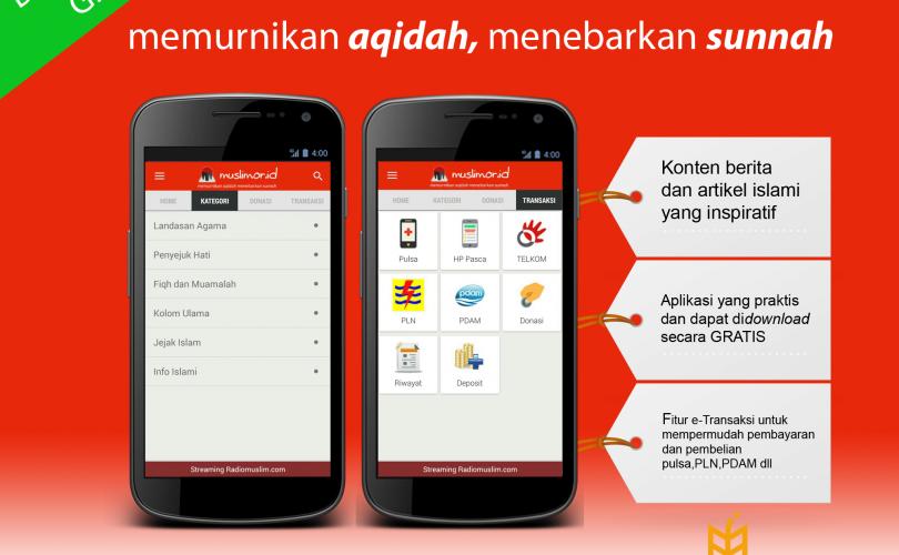 Aplikasi Android Gratis Muslim.Or.Id