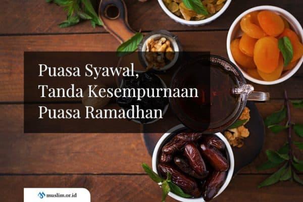 Puasa Syawal, Tanda Kesempurnaan Puasa Ramadhan