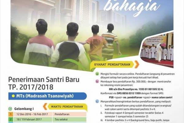Pendaftaran Santri Baru Pesantren Al-Lu'lu' Wal Marjan Magelang