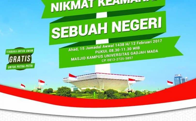 Kajian Umum Bersama Ustadz Dr. Firanda Andirja, Lc., MA (Yogyakarta, 11-12 Februari 2017)