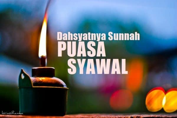 Hitungan Puasa Ramadhan & Syawwal Seperti Puasa Setahun Penuh