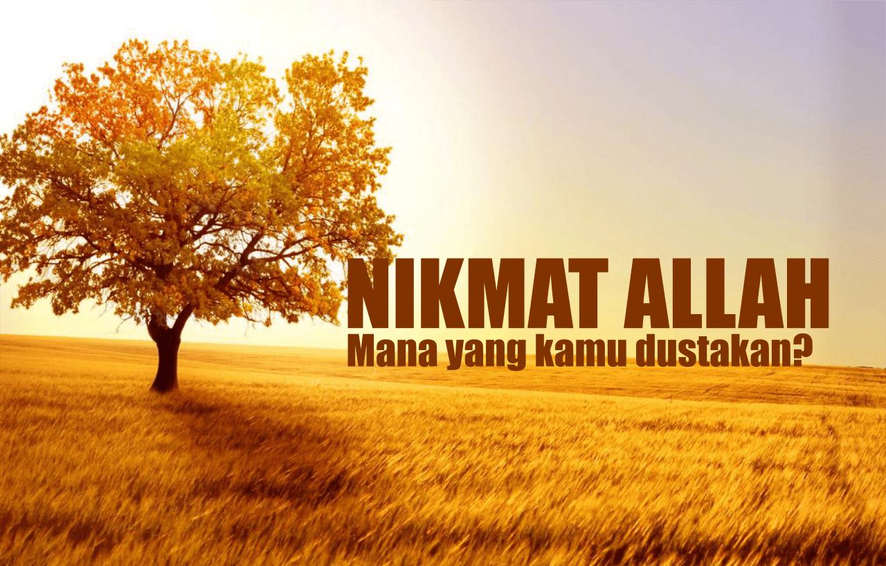 Menyandarkan Nikmat kepada selain Allah Ta'ala