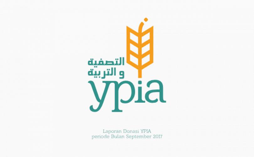 Laporan Donasi YPIA periode Bulan September 2017