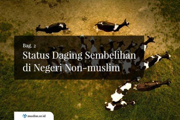 Status Daging Sembelihan di Negeri Non-muslim (Bag. 2)