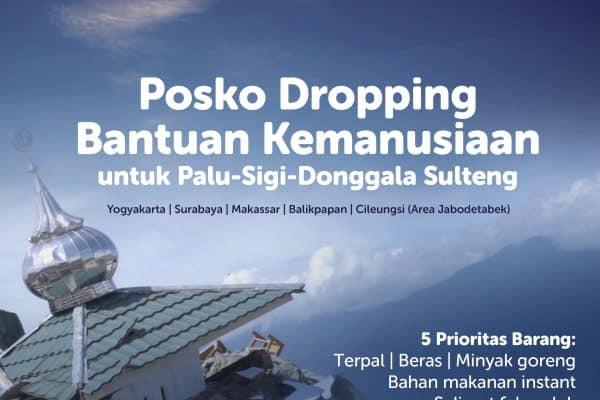 Donasi Penerimaan Barang Bantuan untuk Korban Bencana Alam Palu Sigi Donggala Sulawesi Tengah
